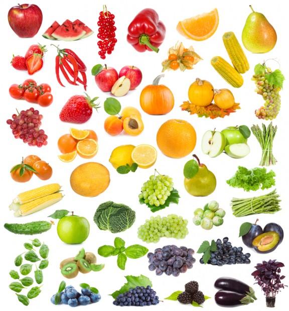 I Colori Di Frutta E Verdura E Le Propriet Nutrizionali